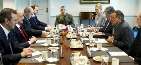 Armenian Defense Minister Visits U.S. Amid Growing Ties