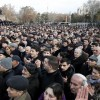 Thousands protest in Armenia after president re-elected