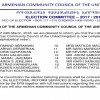 Elections Letter No 4  listing 17 candidates