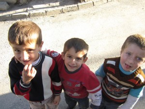 Children in Mush (photo by Khatchig Mouradian)