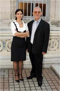 Tamar Kaç Erdavityan & father Berç Kaç