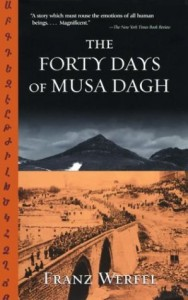 The theme drew inspiration from the Musa Dagh resistance to the Armenian Genocide in 1915, a saga that was immortalized by Franz Werfel in the novel The Forty Days of Musa Dagh.