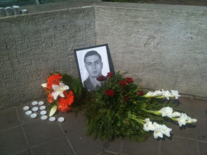 Wreaths were placed in memory of Margaryan at Deák square in Budapest.