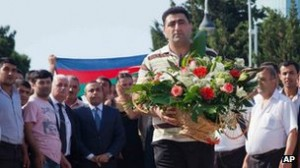 Ramil Safarov was greeted as a national hero in Baku