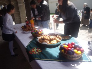 Easter celebrations at Sourp Giragos (Photo by Gulisor Akkum, The Armenian Weekly)