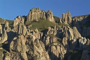 The rocks at Goris (photo by Matthew Karanian)