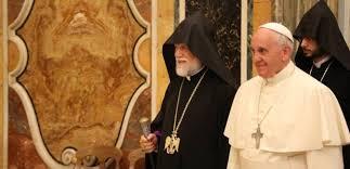 Catholicos Aram I with Pope