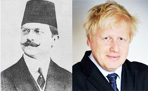 Boris Johnson and Ali Kemal